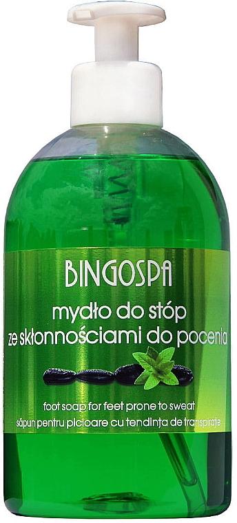Flüssigseife gegen Fußschweiß und Fußgeruch - BingoSpa Feet Soap