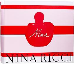 Düfte, Parfümerie und Kosmetik Nina Ricci Nina - Duftset (Eau de Toilette 50ml + Körperlotion 75ml + Eau de Toilette 4ml)