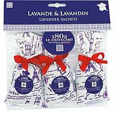 Düfte, Parfümerie und Kosmetik Duftset Lavendel - Le Chatelard 1802 Paris Lavander (Duftbeutel 3x18g)