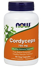 Düfte, Parfümerie und Kosmetik Nahrungsergänzungsmittel Cordyceps 750 mg - Now Foods Cordyceps