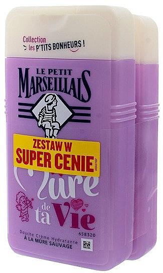 Duschgel 2 St. - Le Petit Marseillais Je Suis La Mure De Ta Vie Shower Gel  — Bild N1