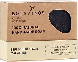 Düfte, Parfümerie und Kosmetik Handgemachte Naturseife mit Birkenkohle und Sheabutter - Botavikos Hand-Made Soap