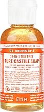 Düfte, Parfümerie und Kosmetik Flüssigseife mit Teebaum für Körper und Hände - Dr. Bronner's 18-in-1 Pure Castile Soap Tea Tree