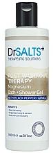 Düfte, Parfümerie und Kosmetik Duschgel mit schwarzem Pfeffer und Arnika - Dr Salts + Post Workout Therapy Magnesium Shower Gel