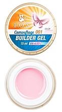 Düfte, Parfümerie und Kosmetik Aufbau-Nagelgel 15 ml - F.O.X Cover Camouflage Builder Gel