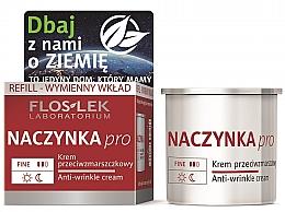 Düfte, Parfümerie und Kosmetik Anti-Falten Gesichtscreme für Kapillarhaut - Floslek Dilated Capillaries Line Anti-Wrinkle Cream Refill (Refill)