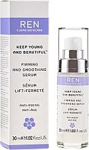 Düfte, Parfümerie und Kosmetik Straffendes und glättendes Anti-Aging Gesichtsserum - Ren Keep Young and Beautiful Smoothing Serum