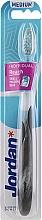 Düfte, Parfümerie und Kosmetik Zahnbürste mittel Individual Reach schwarz - Jordan Individual Reach Toothbrush Medium