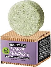 Düfte, Parfümerie und Kosmetik Festes Shampoo für empfindliche Kopfhaut mit Wacholderbeeren- und Lavendelöl - Beauty Jar I Have Feelings