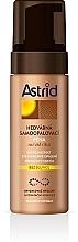 Düfte, Parfümerie und Kosmetik Selbstbräunender Schaum für Gesicht und Körper - Astrid Sun Silk