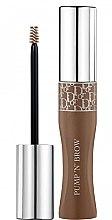 Düfte, Parfümerie und Kosmetik Augenbrauen-Mascara - Dior Diorshow Pump 'N' Brow