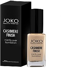 Düfte, Parfümerie und Kosmetik Foundation - Joko Cashmere Finish Mat & Cover Foundation