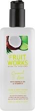 Düfte, Parfümerie und Kosmetik Hand- und Körperlotion mit Vitamin E und Marulaöl - Grace Cole Fruit Works Hand & Body Lotion Coconut & Lime