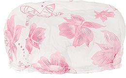 Düfte, Parfümerie und Kosmetik Duschhaube 9298 rosa Blumen - Donegal Shower Cap