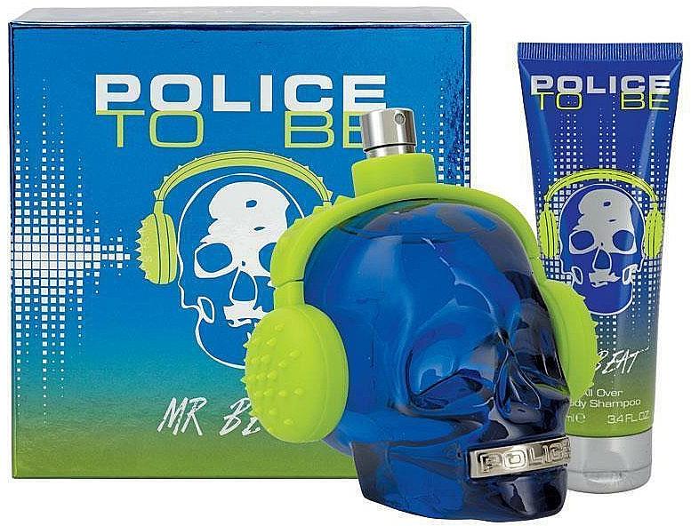 Police To Be Mr Beat - Duftset (Eau de Toilette 75ml + Duschgel 100ml)