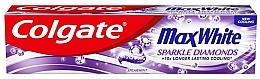 Düfte, Parfümerie und Kosmetik Zahnpasta Max White - Colgate Max White Sparkle Diamonds
