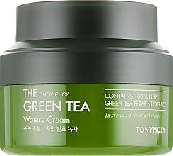 Düfte, Parfümerie und Kosmetik Gesichtscreme mit Grüntee-Extrakt - Tony Moly The Chok Chok Green Tea Watery Cream