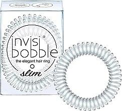 Düfte, Parfümerie und Kosmetik Haargummis transparent 3 St. - Invisibobble Slim Crystal Clear