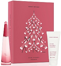 Düfte, Parfümerie und Kosmetik Issey Miyake L'Eau D'Issey Rose & Rose - Duftset (Eau de Parfum 50ml + Körpermilch 100ml)