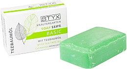 Düfte, Parfümerie und Kosmetik Seife mit Teebaumöl - Styx Naturcosmetic Basic Soap With Tea Tree Oil