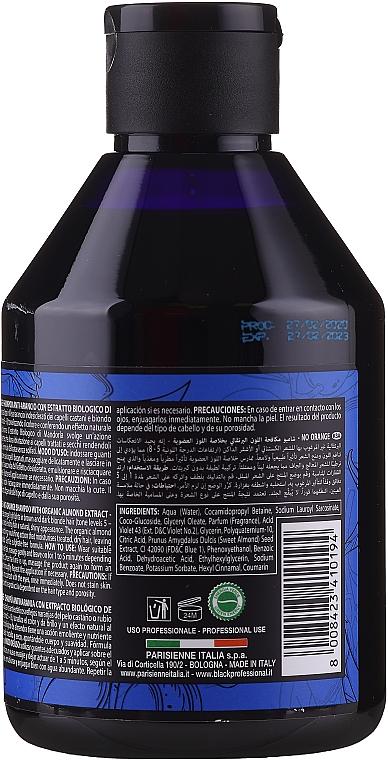 Anti-Orangestich Shampoo mit Bio Mandelextrakt - Black Professional Line Platinum No Orange Shampoo With Organic Almond Extract — Bild N2