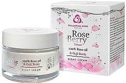 Düfte, Parfümerie und Kosmetik Nachtcreme - Bulgarian Rose Rose Berry Nature Night Cream