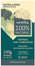 Düfte, Parfümerie und Kosmetik Vegane Biobehandlung gegen Haarausfall und Vergrauung - Venita Herbal Hair Conditioner