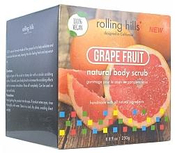 Düfte, Parfümerie und Kosmetik 100% Natürliches Gesichts- und Körperpeeling mit Grapefruitduft - Rolling Hills Gommage Corps Naturel