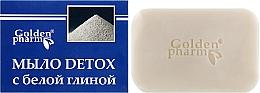 Düfte, Parfümerie und Kosmetik Seife mit weißem Ton - Golden Pharm
