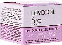 Düfte, Parfümerie und Kosmetik 3in1 Bio Nagelöl - ECO Laboratorie Lovecoil Nail Care Bio-Oil 3 in 1
