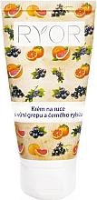 Düfte, Parfümerie und Kosmetik Handcreme mit Grapefruit- und schwarzem Johannisbeerduft - Ryor