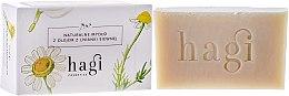 Düfte, Parfümerie und Kosmetik Naturseife mit Leindotter für trockene, allergische und atopische Haut - Hagi Soap