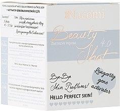 Düfte, Parfümerie und Kosmetik Konzentriertes Gesichtsserum für trockene Haut gegen Pigmentveränderungen - Nacomi Beauty Shots Concentrated Serum 4.0