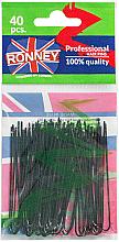 Düfte, Parfümerie und Kosmetik Haarnadeln schwarz 65 mm, 40 St. - Ronney Black Hair Pins