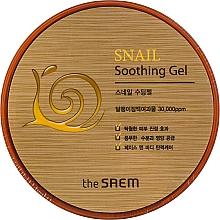 Düfte, Parfümerie und Kosmetik Beruhigendes Gesichtsgel mit Schneckenschleim-Extrakt - The Saem Snail Soothing Gel