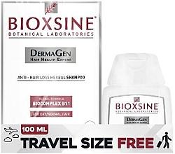 Düfte, Parfümerie und Kosmetik Pflegeset gegen Haarausfall für trockenes und normales Haar - Biota Bioxsine DermaGen (Shampoo 300ml + Shampoo 100ml)