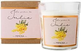 Düfte, Parfümerie und Kosmetik Duftkerze Mimose - Ambientair Le Jardin de Julie Mimosa