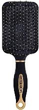 Düfte, Parfümerie und Kosmetik Haarbürste Schaufel 499250 schwarz-gold - Inter-Vion