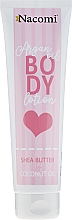 Düfte, Parfümerie und Kosmetik Natürliche Körperlotion - Nacomi Argan Oil Body Lotion Shea Butter & Coconut Oil