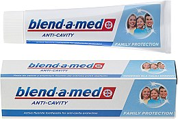 Düfte, Parfümerie und Kosmetik Zahnpasta Anti-Cavity Family - Blend-a-med Anti-Cavity Family Protect Toothpaste