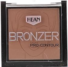 Düfte, Parfümerie und Kosmetik Matter Bronzer für Gesicht und Körper - Hean Pro-contour Bronzer