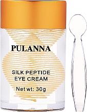 Düfte, Parfümerie und Kosmetik Augencreme mit Peptiden - Pulanna Silk Peptide Eye Cream
