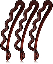 Düfte, Parfümerie und Kosmetik Haarspangen braun 3 St. - Invisibobble Waver Pretty Dark