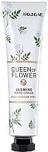 Düfte, Parfümerie und Kosmetik Aufhellende Handcreme mit Jasminblüten - Welcos Around Me Queen of Flower Jasmine Hand Cream
