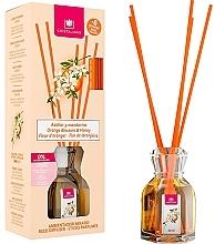 Düfte, Parfümerie und Kosmetik Aroma-Diffusor mit Duftstäbchen Orangenblüte und Honig - Cristalinas Reed Diffuser