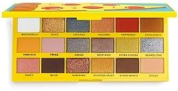 Düfte, Parfümerie und Kosmetik Lidschatten-Palette - Makeup Revolution I Heart Revolution Tasty Palette Pizza