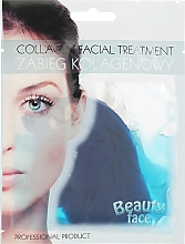 Düfte, Parfümerie und Kosmetik Kollagen-Therapie für das Gesicht mit Algen - Beauty Face Collagen Hydrogel Mask