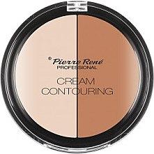 Düfte, Parfümerie und Kosmetik Gesichtskontur-Palette - Pierre Rene Cream Contouring
