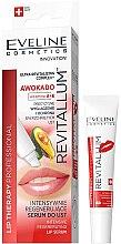 Düfte, Parfümerie und Kosmetik Intensiv regenerierendes Lippenserum mit Avocado und Vitamin A und E - Eveline Cosmetics Lip Therapy Professional Awocado Intensive Lip Serum