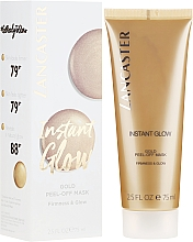 Düfte, Parfümerie und Kosmetik Peel-Off Gesichtsmaske für strahlende Haut - Lancaster Instant Glow Gold Peel-Off Mask